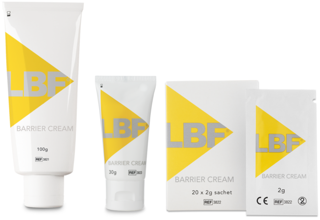 Lbf Barrier Cream Range